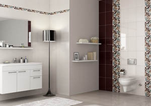 bagno fashion piastrelle decorate